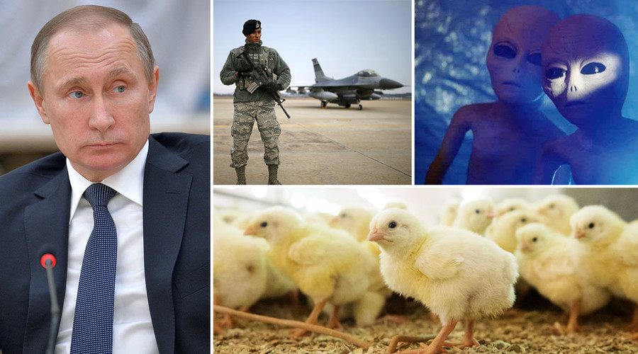 Putin did it, not US, Israelis or aliens? CNN 'expert' solves MH370 mystery with hint from chickens