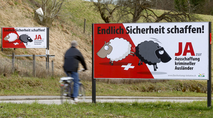 Swiss vote down plan to expel foreigners for committing crimes