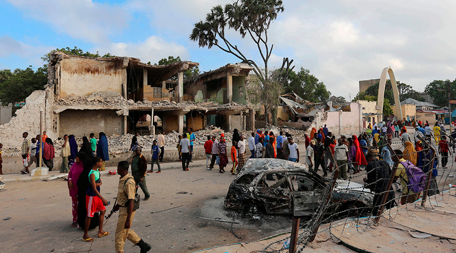 30 killed, 40 injured in Somali city's twin suicide blasts