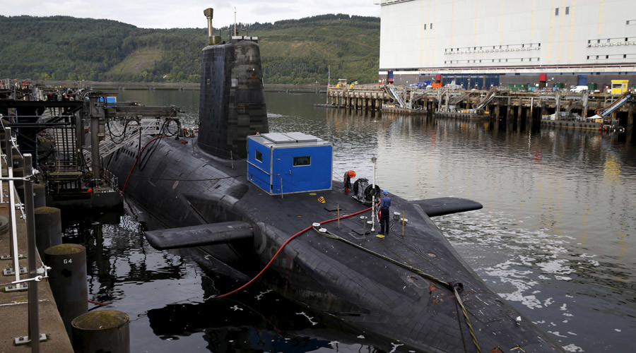 UK's newest sub test-fires torpedo days after #StopTrident demo