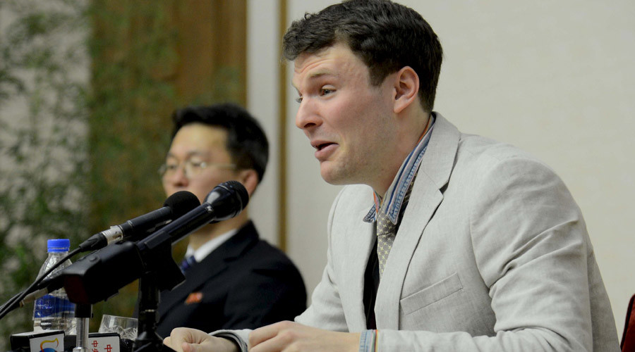 'Worst mistake': American student detained in N. Korea gives teary apology, pleads for release
