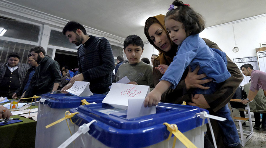 Iranian moderates secure majority in parliament and assembly of experts