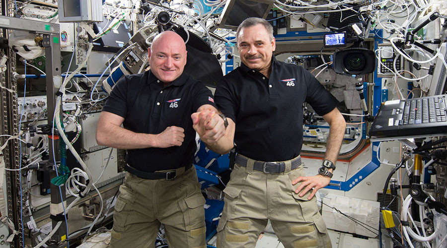 'Exciting ride back to Earth': Kelly & Kornienko wrap up their 11-month space mission
