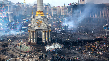 'Wrong' Maidan: Ukraine demands that France's Canal+ TV take hard-hitting documentary off air