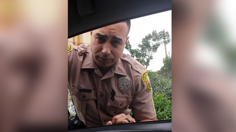 Miami Vice: Cop pulled over by woman for speeding (VIDEO)