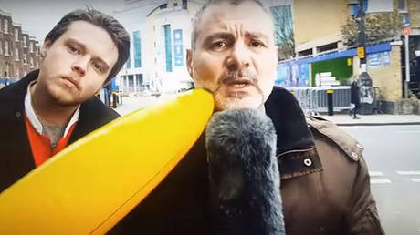 Viral Deadline Day video of banana attack on Italian sports reporter exposed as fake