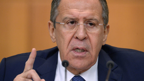 Shutting off smuggling through Turkey-Syria border key condition for ceasefire in Syria - Lavrov