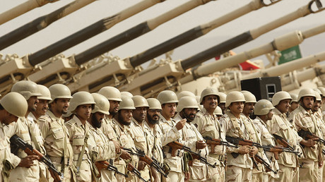 Saudi soldiers © Fahad Shadeed / Reuters
