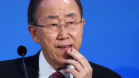 UN Secretary General Ban Ki-Moon © Andy Rain
