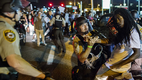 DOJ sues Ferguson after city seeks changes to police settlement to avoid bankruptcy