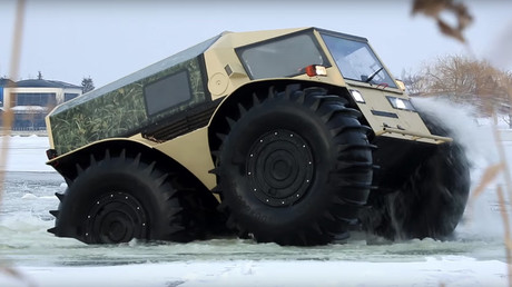 Don't truck with the Russians: These all-action vehicles will blow your mind (VIDEO)