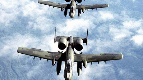 US Air Force A-10 Thunderbolt II aircrafts. © U.S. Air Force