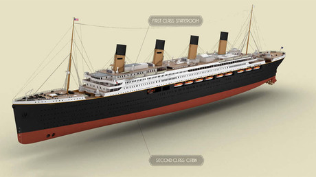 No longer on ice? Titanic replica to be completed & set sail by 2018