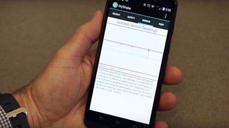 Android will rock! Scientists create crowdsourced earthquake detector app for phones