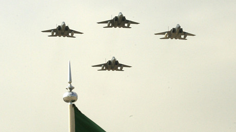 Saudi air force jets © Ali Jarekji