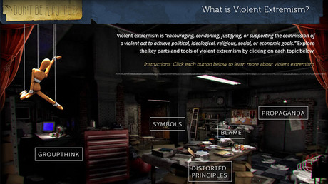 FBI unveils 'violent extremism' video game to educate teenagers