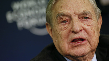 George Soros, Chairman of Soros Fund Management. © Pascal Lauener