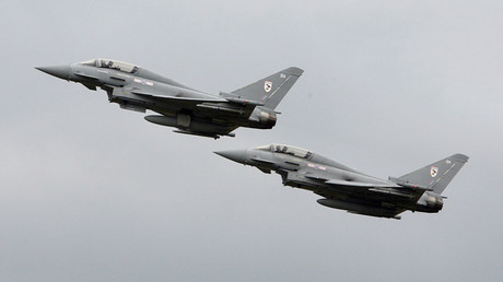 Typhoon fighters scrambled to intercept Russian bombers heading to UK airspace