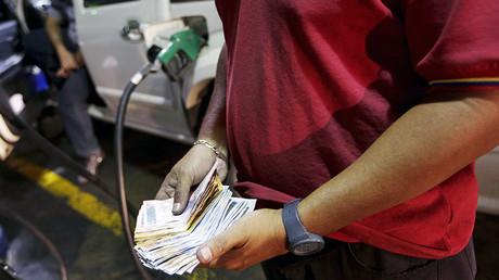 Petrol pump pain: Venezuelan gasoline prices jump 6,000%