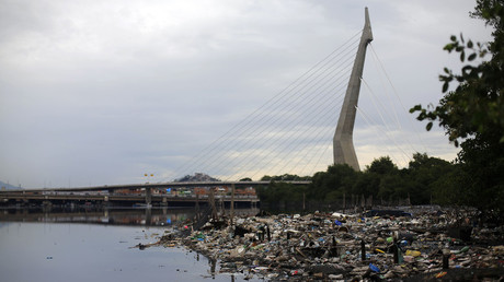Water sports athletes may face pollution danger at Rio Olympics