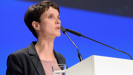 Frauke Petry, chairwoman of eurosceptic German party