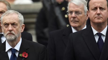 Jeremy Corbyn, David Cameron © Toby Melville