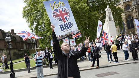Far-right BNP escapes bankruptcy after £150k donation from 91y/o