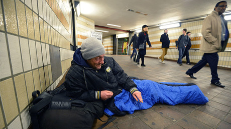 Homeless Britain: Numbers sleeping rough rocket by almost a third in one year