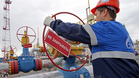 Russian gas exports to Europe surge