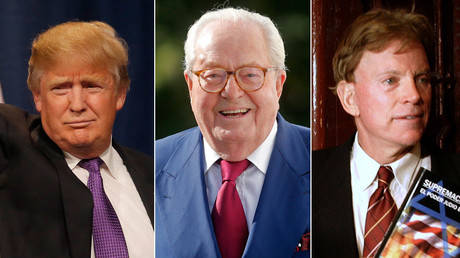 Donald Trump, Jean-Marie Le Pen,David Duke © Jim Young, Christian Hartmann, Gustau Nacarino