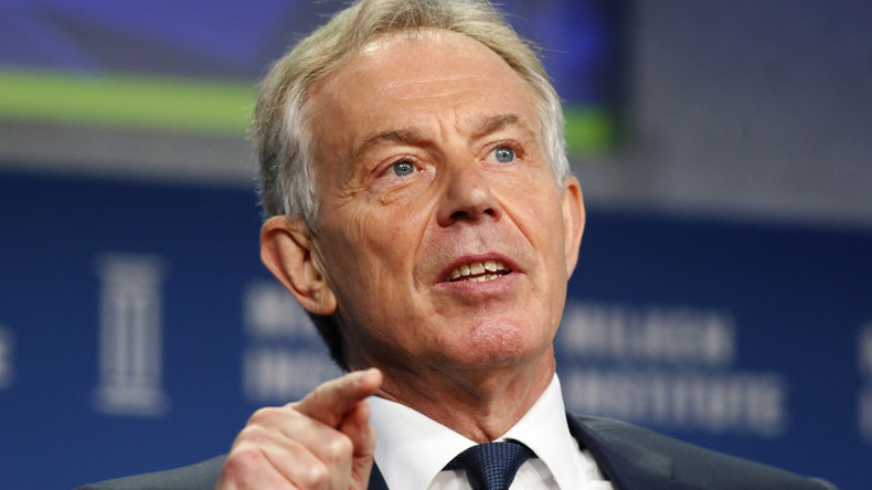 Blair benefited from classified intelligence while bidding for contracts, new biography claims