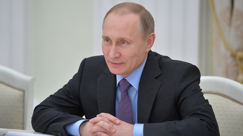Putin's electoral rating hits 4-year high