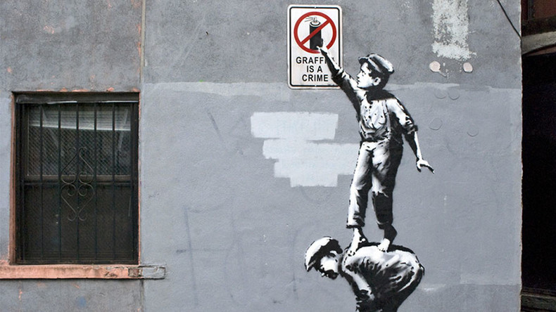 Tagging Banksy: Criminology technique allegedly unmasks elusive graffiti artist
