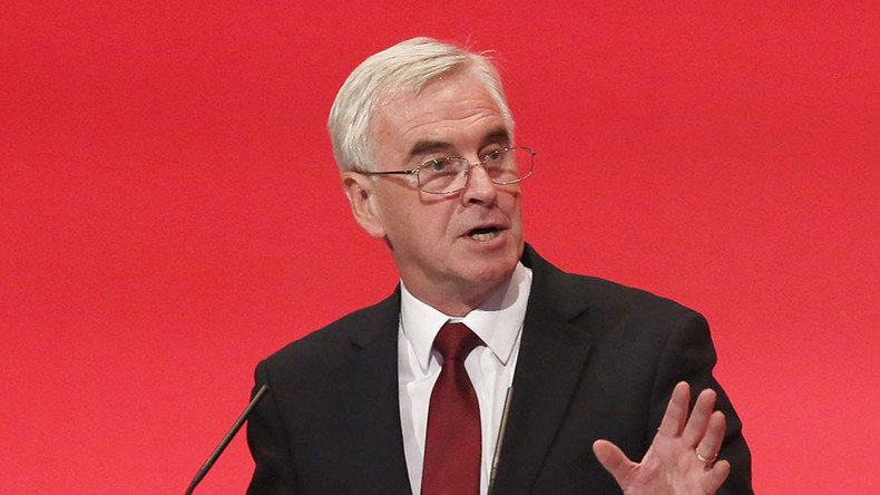 Tories want EU of austerity & corporate capture – McDonnell