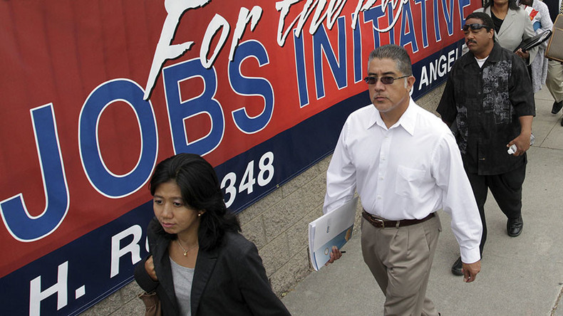 US economy beats expectations, adds 242k jobs in February