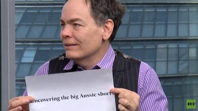 'This is collusion': Keiser claims Aussie 'short' shows no lessons were learned from 2008 crash
