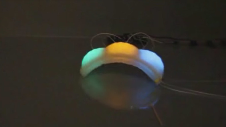 Soft robot breakthrough: Artificial 'octopus skin' stretches to 6 times original size, changes color
