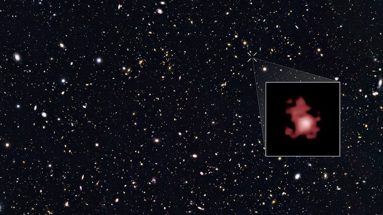 Leap back in time: NASA spots farthest galaxy, breaks cosmic distance record