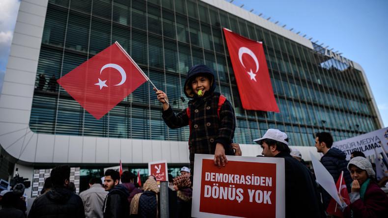 'US won't pressure NATO member Turkey over dictatorial behavior'