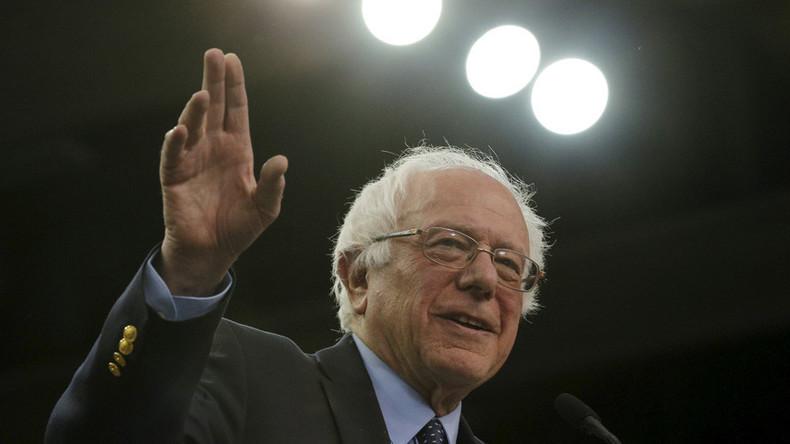 Bernie Sanders wins caucuses in Kansas, Nebraska, as Clinton takes Louisiana