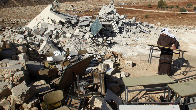 'Israel never short on pretexts when it comes to destroying Palestinian homes'