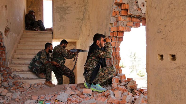 Turkey shelling Syrian Kurdish militia in northern Aleppo - YPG