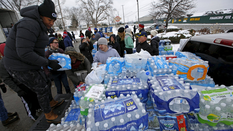 Flint crisis 'a catastrophe': Families file class-action lawsuit over poisoned water