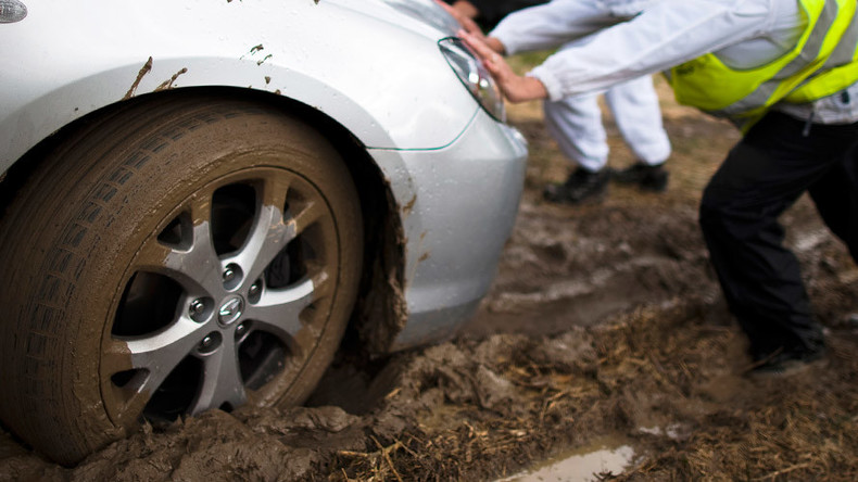 Pay another day: German town pulls 'Mossad agents' car' out of mud, wants Israel to reimburse