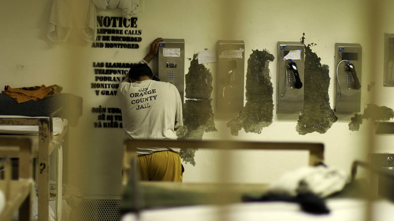 Court halts rule that would cap prices on prison phone calls