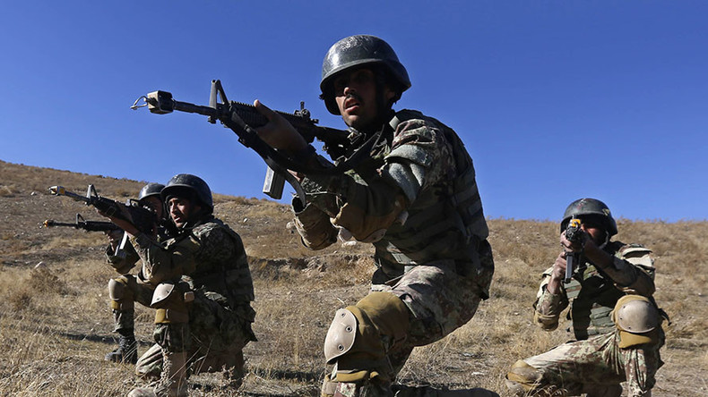 British-trained Afghan National Army is falling apart – report