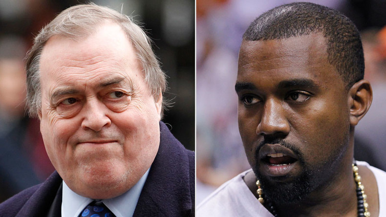 John Prescott shuts down Kanye West on Twitter