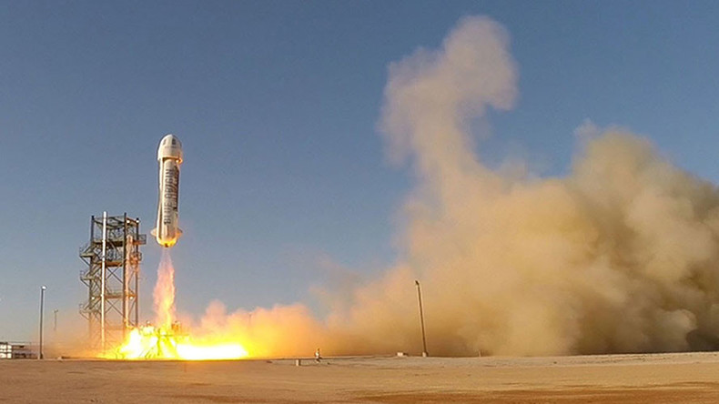 Looking to get away? Blue Origin plans to launch tourists into space in 2 years