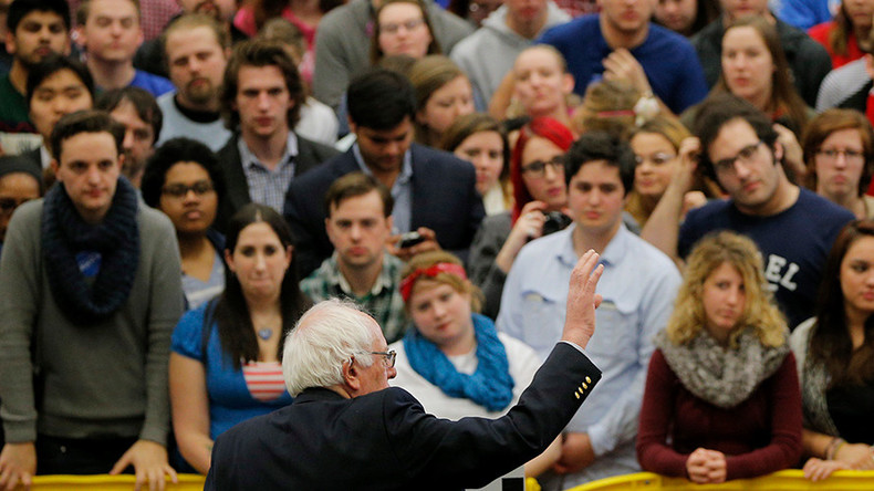 Sanders sues to allow some 17-year-olds vote in Ohio primary