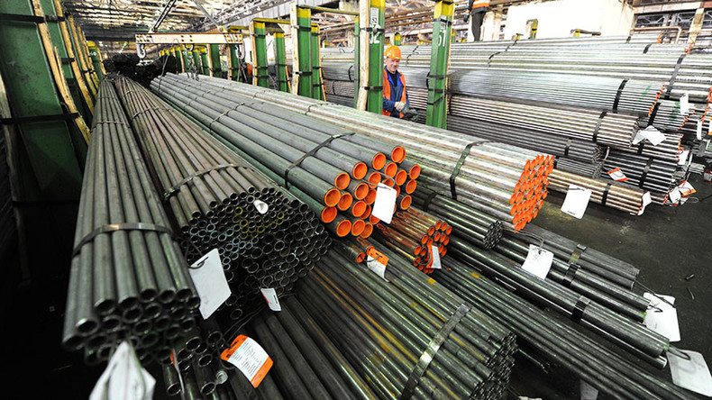 Russian steel pipe maker bidding to supply Iran's energy industry